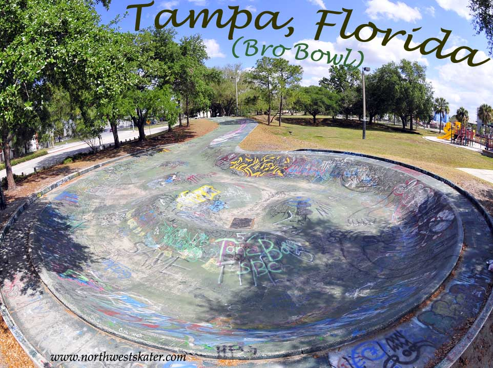 Tampa (Bro Bowl), Florida Skatepark