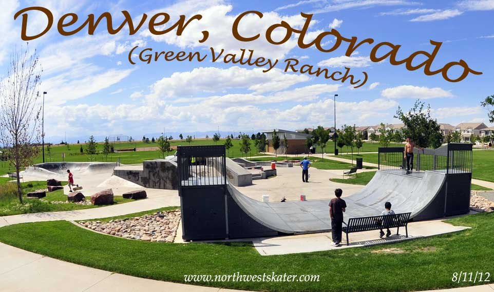 Green Valley Ranch Colorado >> Denver (Green Valley Ranch), Colorado Skatepark