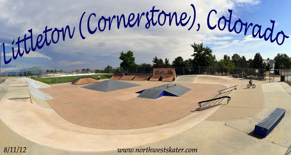 Littleton Cornerstone Colorado Skatepark