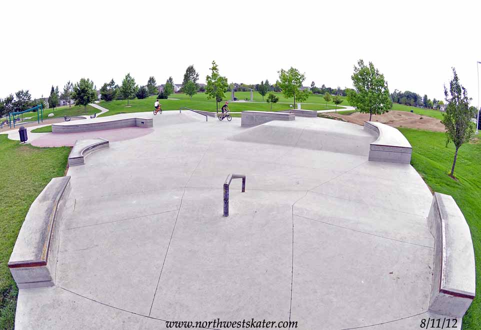 Longmont Stephen Day Park Colorado Skatepark