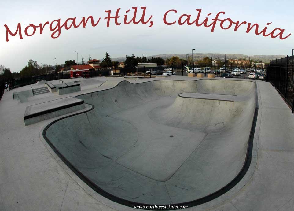 Morgan Hill California Skatepark