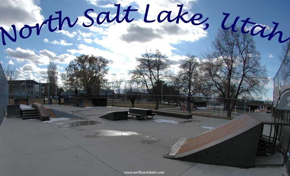 North Salt Lake Skatepark, Utah (RIP)