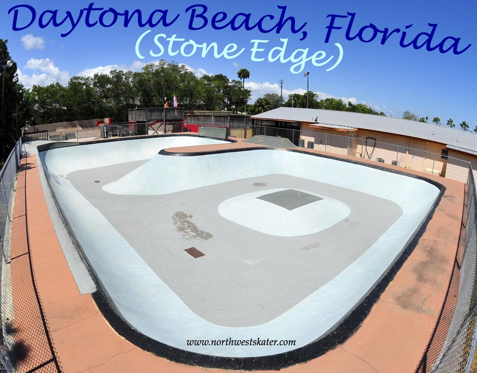 Florida Skateparks Map.Daytona Beach Stone Edge Florida Skatepark