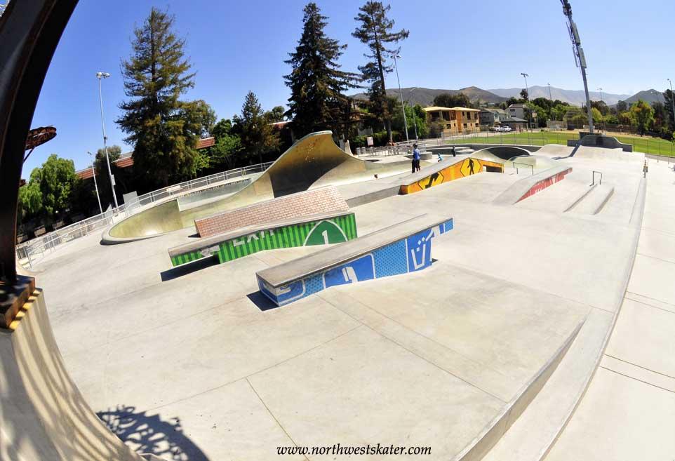 San Luis Obispo Skatepark, California